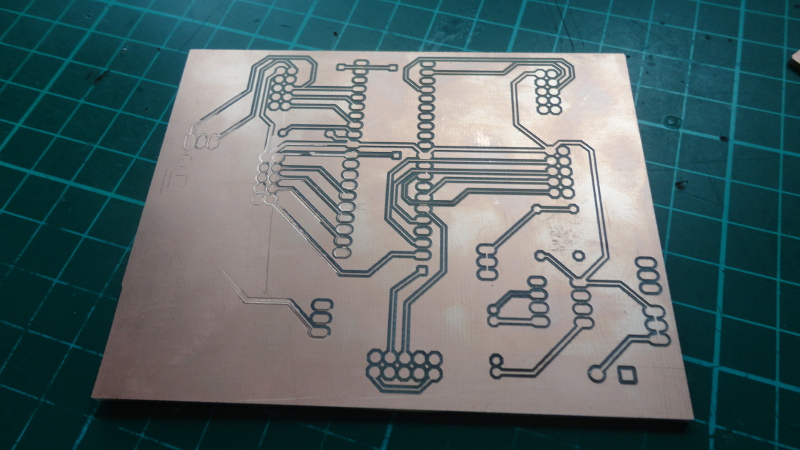 A CNC Isolation milled PCB creation without using the AutoLeveller